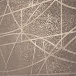 stencil polished plaster